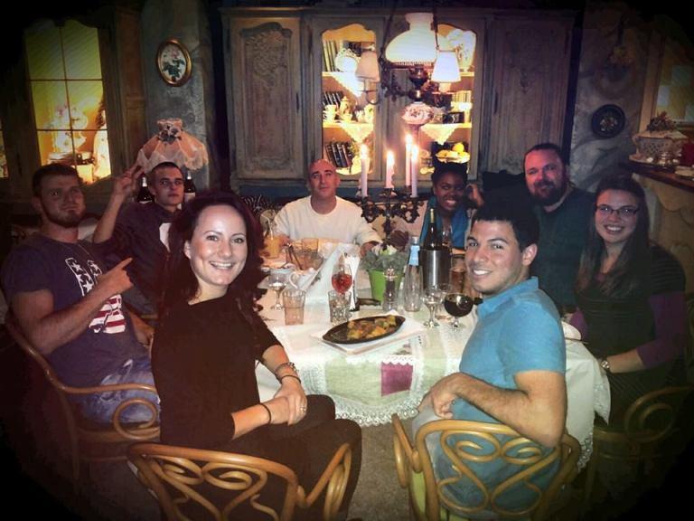 Dinner with Friends in Veliko Tarnovo